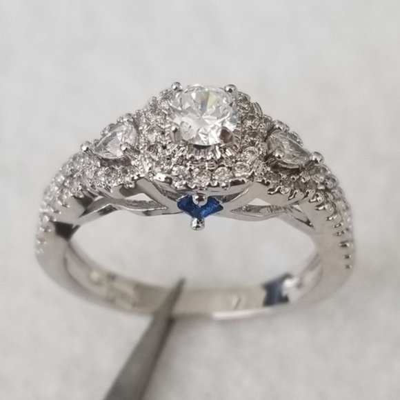 Jewelry - Something Blue Solitaire